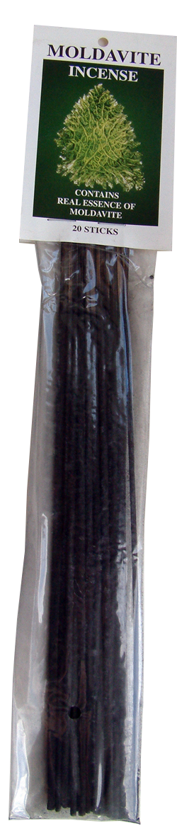Moldavite incense for healing, dreaming and meditation